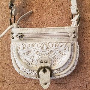 Handbags - Crochet Style Crossbody Purse